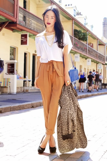 5.-draped-top-with-paper-bag-pants-and-leopard-print-blazer