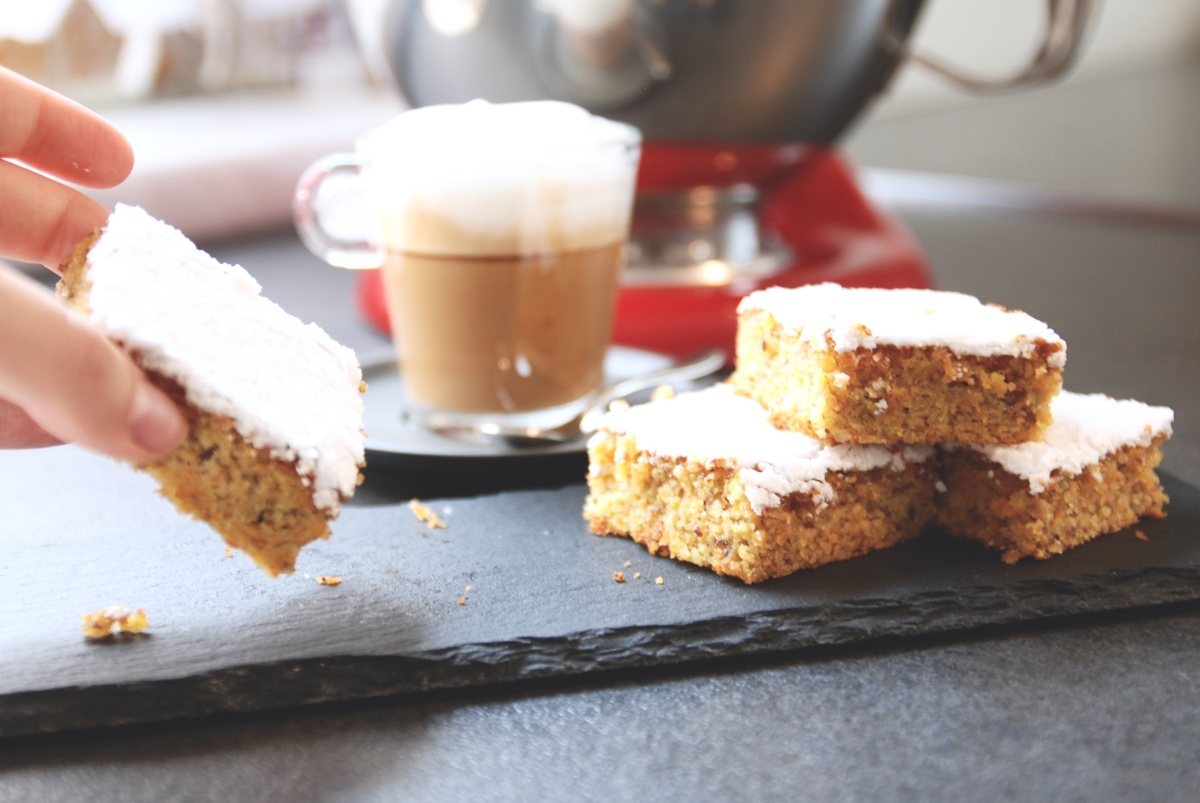 The »No Regrets« Carrot Cake with Lemon Frosting